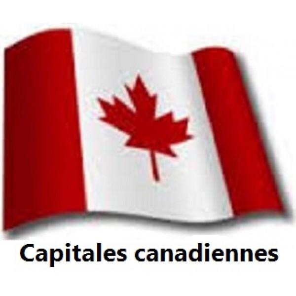 Capitales canadiennes