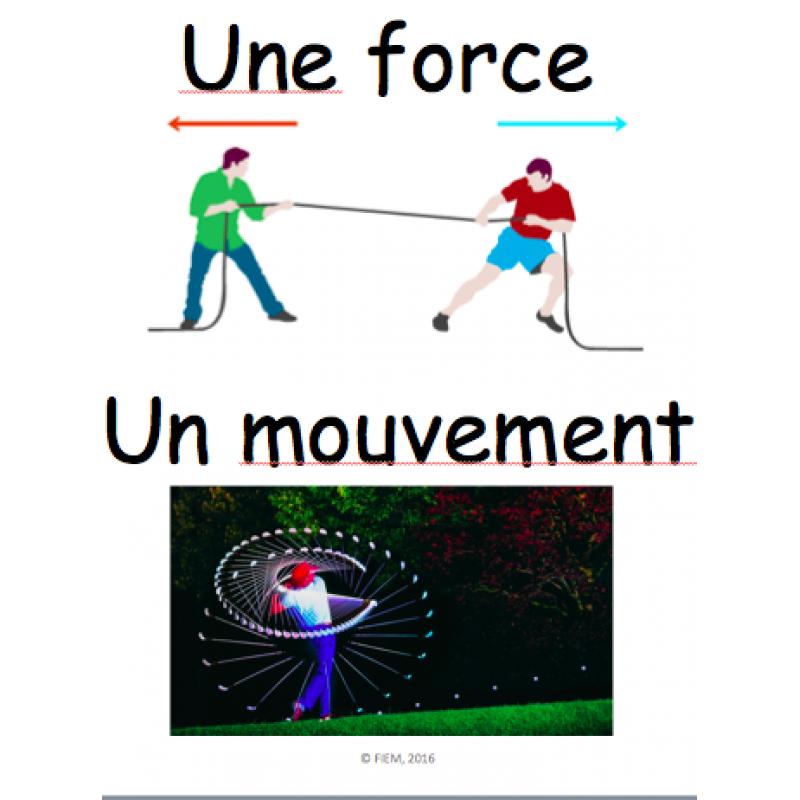 Resultado de imagen para force et mouvement